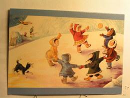 Enfants Inuits En Train De Danser Par Eugénie Fernandes - Canada - Canada