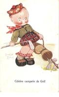 """Beatrice Mallet. Celebr Campeoin De Golf"" Tuck Oiette Cute Kiddies Series PC # 3628 - Tuck, Raphael"