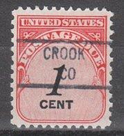USA Precancel Vorausentwertung Preo, Locals Colorado, Crook 841 (O/C) - Vereinigte Staaten