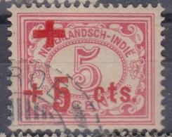 PAYS-BAS Inde Néerlandaise 1915: Timbre De La Croix-Rouge, Oblitéré - Indes Néerlandaises