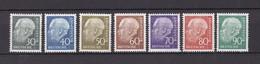 BRD - 1956/60 - Michel Nr. 259/265  - Postfrisch - 40 Euro - Ungebraucht