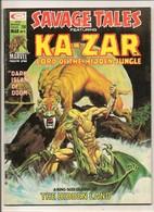 Savage Tales Featuring Ka-Zar # 9 - Shanna, Zabu - Marvel Comics Group - In English - March 1975 - Marvel