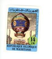 Mauritanie- ,montgolfière-Timbre De La Série Non Dentelé***MNH - Airships