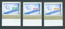 ISRAËL 1998 . N°s 1428 , 1429 Et 1430 . Auto-adhésifs . Neufs ** (MNH) - Nuovi (senza Tab)