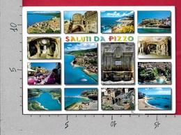 CARTOLINA VG ITALIA - Saluti Da PIZZO CALABRO (VV) - Vedutine Multivue - 12 X 17 - ANN. 2007 NICOLO CAROSIO - Saluti Da.../ Gruss Aus...