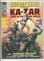 Savage Tales Featuring Ka-Zar # 10 - Shanna, Zabu - Marvel Comics Group - In English - May 1975 - Marvel