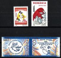 Rumanía Nº 4863/66 En Nuevo - 1948-.... Repubbliche