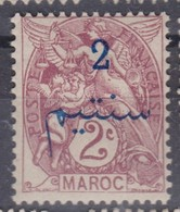 MAROC 1911:  Le  2C.  Neuf * - Marokko (1891-1956)