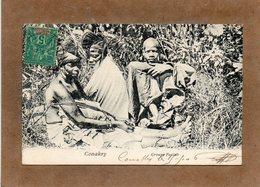 CPA - GUINEE FRANCAISE - CONAKRY - Aspect D'un Groupe Foulah En 1906 - Guinée Equatoriale