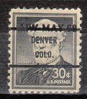 USA Precancel Vorausentwertung Preo, Bureau Colorado, Denver 1049-71 Dated - Vereinigte Staaten