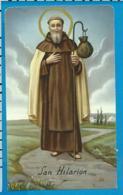 Holycard    St. Hilarion - Imágenes Religiosas