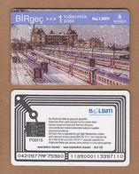 AC - SUBWAY SINGLE RIDE METROCARD, BUS CARD HAYDARPASA TRAIN - RAILWAY STATION, ISTANBUL TURKEY - Titres De Transport