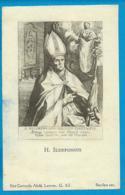 Holycard    St.  Ildefonsus - Santini