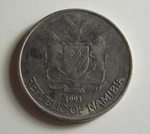 Namibia 50 Cents 1993 Varnished - Namibia