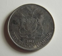 Namibia 50 Cents 1993 Varnished - Namibië
