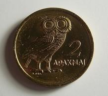 Greece 2 Drachmai 1973 Varnished - Grèce