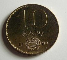 Hungary 10 Forint 1983 Varnished - Hongrie