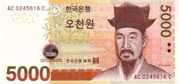 SOUTH KOREA 5000 WON ND (2006) P-55a UNC [KR251a] - Korea, South