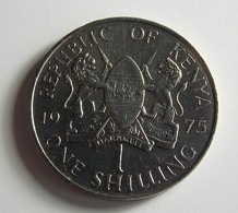 Kenya 1 Shilling 1975 Varnished - Kenya