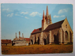 CP 29 SAINT JEAN TROLIMON - Chapelle Et Calvaire De TRONOEN 1968 - Saint-Jean-Trolimon