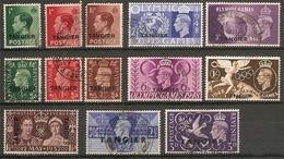 MOROCCO AGENCIES (TANGIER) 1936 - 1948 SETS FINE USED Cat £14.95 - Postämter In Marokko/Tanger (...-1958)