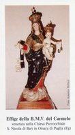 Orsara Di Puglia (Foggia) - Santino BEATA MARIA VERGINE DEL CARMELO - PERFETTO P91 - Religione & Esoterismo