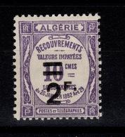 Algerie - Taxe YV 24 N* Cote 17,50 Euros - Argelia (1924-1962)