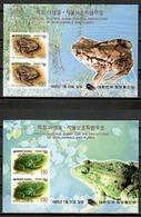 Korea South 1995 Corea / Amphibians Frogs MNH Anfibios Ranas Amphibien Frösche / Cu11433  C5-17 - Ranas