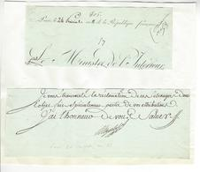 Jean-Antoine Chaptal (1756-1832) AUTOGRAPHE ORIGINAL AUTOGRAPH 1803 /FREE SHIP. R - Autógrafos