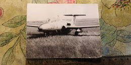 Soviet Aerodrome  - Vintage Photography 1960s  Old USSR Photo - Plane Avion - Aviation