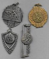 4 Médailles -  Course à Pied - Athlétisme