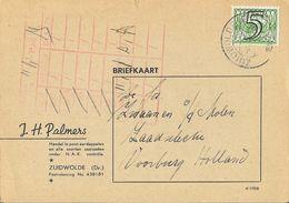 Briefkaart - J.H. Palmers - Zuidwolde (Dr.) 1943 - Autres