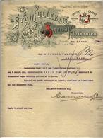 F.A.MULLER & C°  Sigarenfabrikanten  DEVENTER  Brief    01 Juni 1909 - Nederland