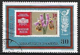 HONGRIE   -   1973 .   Y&T N° 2302 Oblitéré.    Fleurs  /  Orchidées - Hungary