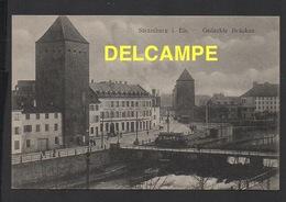 DD / 67 BAS RHIN / STRASBOURG / LES PONTS COUVERTS / BRASSERIE DE LA FORÊT VERTE (BRAUEREI ZUM GRÜNEN WALD ) / 1918 - Strasbourg