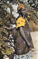 Afrique  Noire  JEUNE MAMAN  (sourire Bébé ) (:PRINTANIA 2837) *PRIX FIXE - Cartes Postales