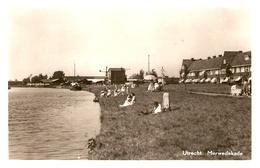 Utrecht, Merwedekade Relaxen Bij Het Water 1952 - Utrecht