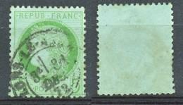 TIMBRE - FRANCE - Ceres  - Repub Franc - 5 C -Vert - 1849-1850 Ceres