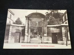 Paris Hôpital Dès Enfants Malades Porte D Entrée Principale - Arrondissement: 15