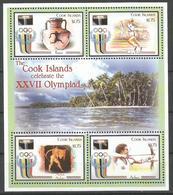 Cook Islands,SOG-Sydney '00 2000.,mini Sheet,MNH - Cookeilanden
