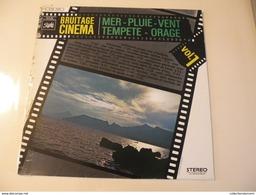 Bruitage Cinéma - Mer-Pluie-Vent-Tempête-Orage - (Titres Sur Photos) - Vinyle 33 T LP - Filmmusik