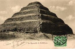 EGYPTE - LA PYRAMIDE DE SAKKHARA - Egypte