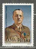 POLAND MNH ** 2553 NAISSANCE GENERAL ET HOMME POLITIQUE WLADYSLAW SIKORSKI - 1944-.... Republik