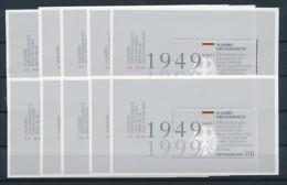 GERMANY Mi. Nr. Block 48 50 Jahre Grundgesetz  - 10 Stück - MNH - [7] République Fédérale