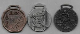 3 Médailles   - ASSU Et UNSS - Sports
