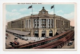 - CPA BOSTON (Etats-Unis / Massachusetts) - South Station - - Boston