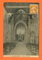 CPA FRANCE 60  ~  AMBLAINVILLE  ~  4  Chœur De L'Eglise   ( Martinet 1920 )  2 Scans - France