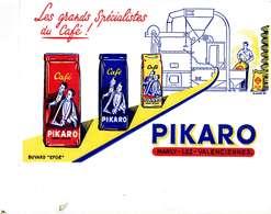 """B 15  /   1 BUVARD  """" PIKARO  """" - Blotters"""
