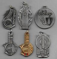 6 Médailles   -  Ufolep - Sports