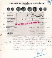 89- SENS - RARE LETTRE MANUSCRITE J. BARILLOT-ENGRAIS AGRICULTURE -SUCRAZOTE- 25 RUE BENOIT VOISIN-1916 - Agriculture